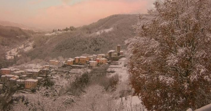 Frazione di Riana, Inverno